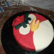 Pastel forma angry birds