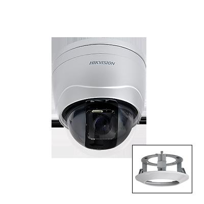 Mini Domo PTZ 10x Zoom Optico, Día/Noche WDR, Para Interior, 500 / 570 TVLs.