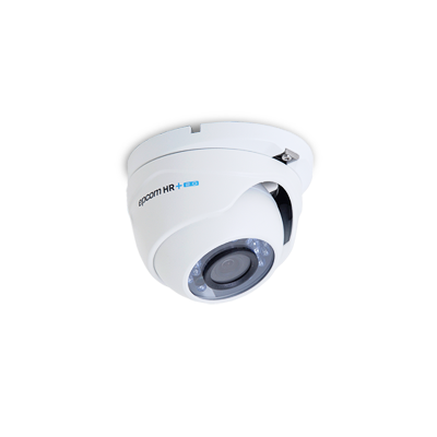 (Versión 2.8mm)Domo Eyeball Interior/Exterior Antivandálico 800TVL UltraHR+ 2.0 IR Inteligente De 20M, Día Y Noche Real, DWDR, Color BLANCO