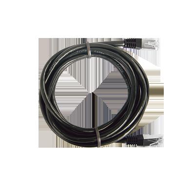 Cable Estruturado Patch Cord FTP Negro CAT6 0.5m