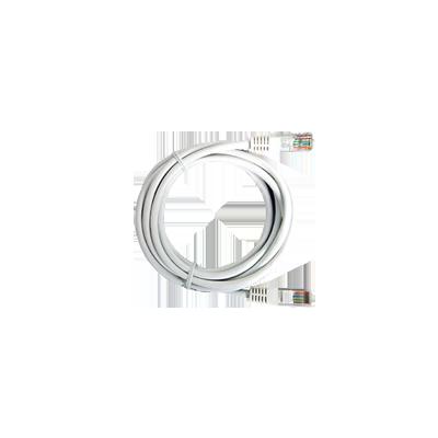 Cable Estruturado Patch Cord UTP Blanco CAT5e 0.5m