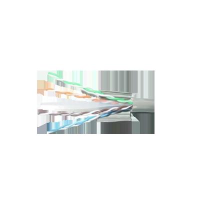 Bobina De Cable Par Trenzado Nivel 5 (CAT 5e), CMR, De Color Azul, De 4 Pares De Conductores Sólidos De Cobre AWG 24.para Aplicaciones De CCTV/Redes De Datos/IP Megapixel/Control RS485.